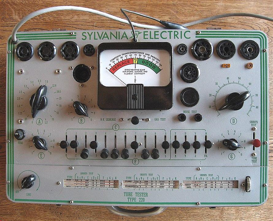 Sylvania Tube Tester Type 220